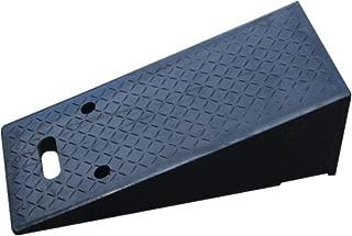 ランプエイド 上り坂パッドトライアングルウッド反射道路勾配ステップパッド強いと頑丈沿いの斜面道路沿いのポータブルゴムの道 (Color : Black, Size : 70x30x23cm)