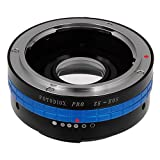 Fotodiox Pro Lens Mount Adapter w/Focus Confirmation Chip, Mamiya ZE Lens to Canon EOS EF, EF-S Camera i.e. EOS 7D, 1D & 60D