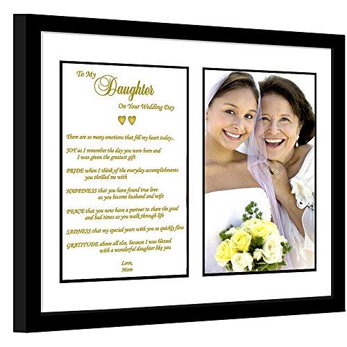 Daughter Wedding Gift - Mother to Daughter Poem – Touching Wedding...