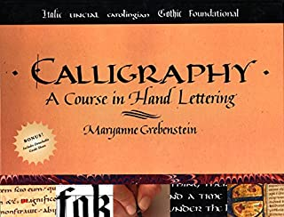 Calligraphy: A Course in Hand Lettering (0823005534)   Amazon price tracker / tracking, Amazon price history charts, Amazon price watches, Amazon price drop alerts