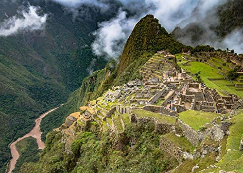 Machu Picchu, Perú 1000 piezas de rompecabezas de madera para adultos juguetes educativos para descompresión súper difícil hecho a mano regalo perfecto
