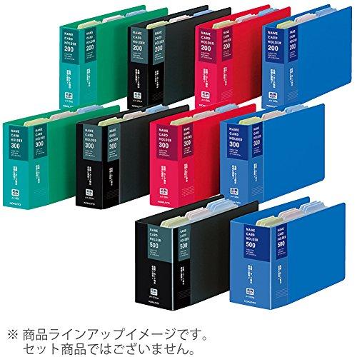 コクヨ『名刺ホルダー替紙式2穴300名刺縦入(メイ-30R)』