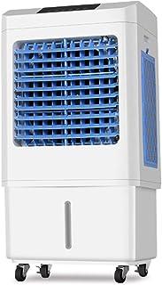 PIGE Ventilador de aire acondicionado de refrigeración móvil - Cristal de hielo de enfriamiento de alta densidad para enfriamiento rápido, enfriamiento omnidireccional de 90 grados, ventiladores dom
