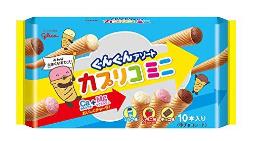 江崎グリコ カプリコミニ大袋 10本入