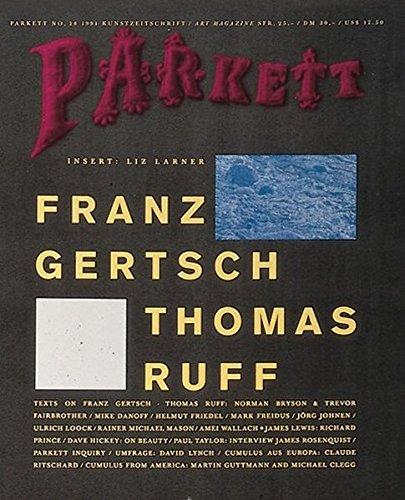 Gertsch, Franz/ Ruff, Thomas: Insert: Larner, Liz (Parkett / Die Parkett-Reihe mit Gegenwartskünstlern)