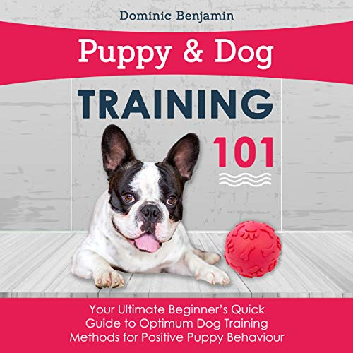 Puppy & Dog Training 101 audiobook cover art
