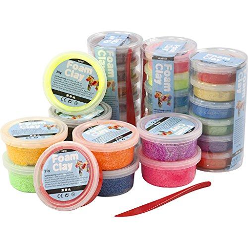 Foam Clay®, verschiedene Farben, 28 Tuben