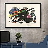 Pintor famoso Pintor famoso Pinturas de arte moderno Cuadro abstracto Cartel retro e impresiones Arte de la pared Lienzo Cuadros de pared para la sala de estar Decoración del hogar 50X70 Cm Sin marco