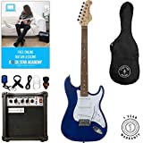 Stretton Payne ST Electric Guitar Package with practice amp, padded bag, strap, lead