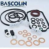 BASCOLIN Kits de reparación de inyectores 1467010059 juntas tóricas 1 467 010 059 Sellos para Dodge Cummins 12V 5.9L