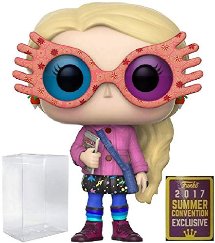 HARRY POTTER - Luna Lovegood with Glasses Funko Pop! SDCC 2017 Summer Convention Exclusive Vinyl Figure (Includes Compatible Pop Box Protector Case) image