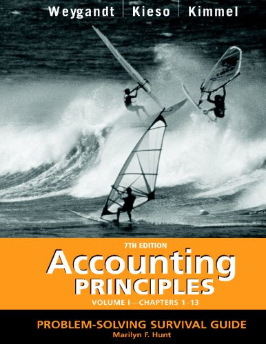 Accounting Principles, Problem Solving Survival Guide, Vol. 1, Chapters 1-13
