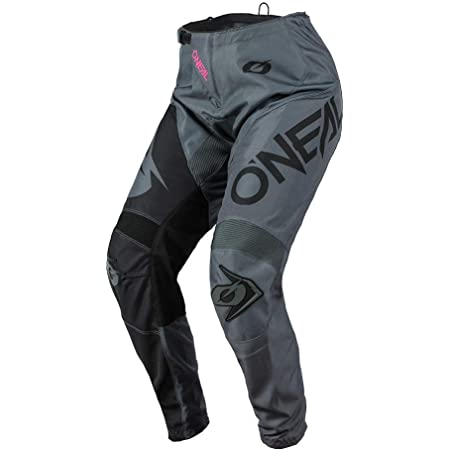 ONeal Womens MX Pants Gray//Pink, 9//10