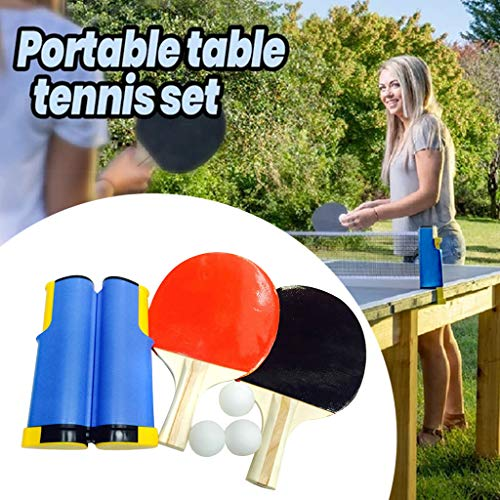 Buy Discount Liyes Indoor Games, Retractable Portable Table Tennis Net, Ping-Pong Paddles Kit Set - ...