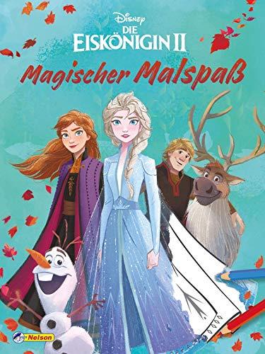 Disney Die Eiskönigin 2: Magischer Malspaß: 80 Ausmalseiten (Disney Eiskönigin)