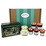 The Ultimate Great British Afternoon Tea Hamper - Including Tea, Clotted Cream, Jams, Preserves & Marmalades - Hamper Exclusive to Burmont's