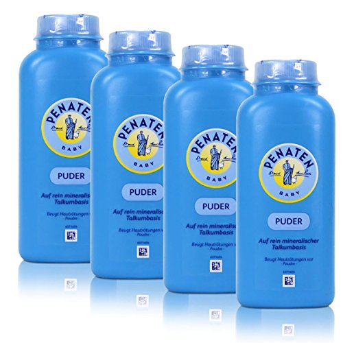 Penaten Puder, 4er Pack (4 x 100ml)