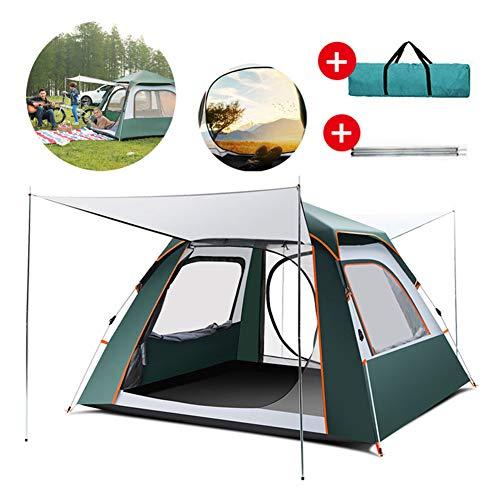Persoon Camping Tent, Kamperen Tent met winddicht Anti-UV Hardy Weerstand Op hoge temperatuur voor Camping Travel Beach 2-4 Personen
