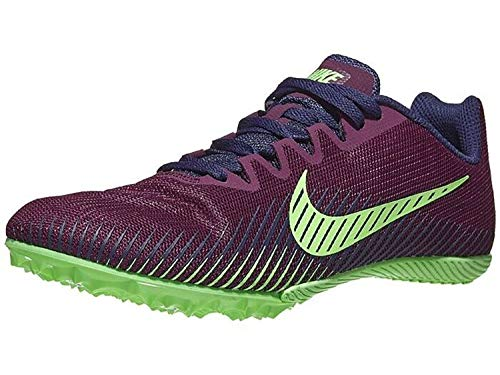 Nike Zoom Rival M 9, Zapatillas de Atletismo Unisex Adulto, Multicolor (Bordeaux/Regency Purple/Lime Blast 600), 44.5 EU