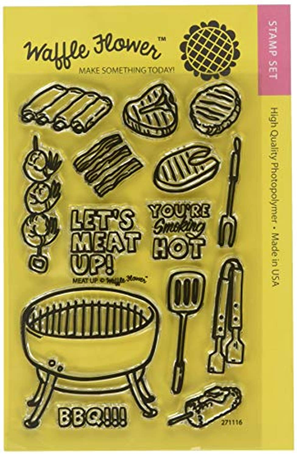 Waffle Flower Crafts 271116 Clear Stamps 4