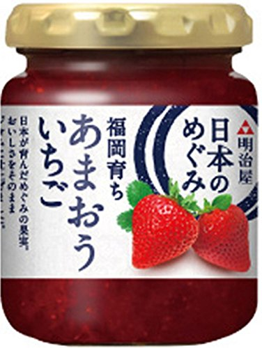 明治屋 日本のめぐみ 福岡育ち あまおういちごジャム 150g×2個