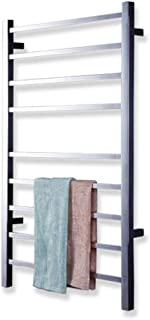 115w Electric Heated Towel Rack, Constant Temperature, Low Energy Consumption, Hidden Waterproof Switch, 8k Mirror Polished Surface, Stainless Steel Wall Mounted Radiator
