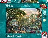 Schmidt Spiele 59473–Thomas Kinkade, Disney Libro de la Selva, Rompecabezas, 1000Piezas
