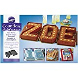 Wilton Countless Celebrations Cake Pan Set, 10-Piece Letter and Number Cake Pan (Renewed)