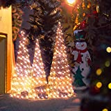 KPCB Árboles de Navidad Color Oro Rosa con Luces LED...