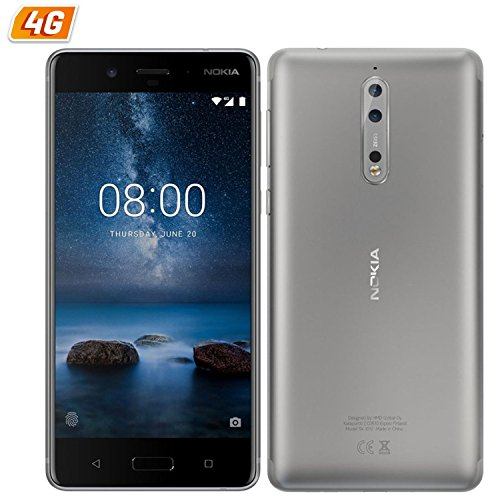 MT Nokia 8 64GB Dual SIM Android 7.1.1 [SI] - EU