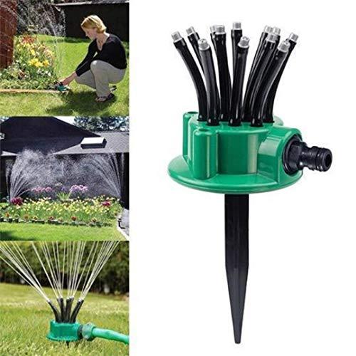 JSX 360 Grad Einstellbare Lawn Sprinkler, Automatische Bewässerung Garten-Yard Gartenarbeit Gartenwerkzeug Multi-Kopf-Sprenger