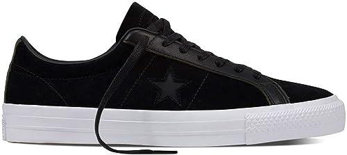 Converse Men's One Star Pro, schwarz Weiß, 10.5 M US
