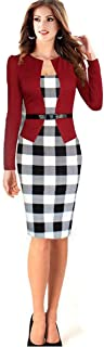Long Sleeved Pencil Skirt Dress For Women