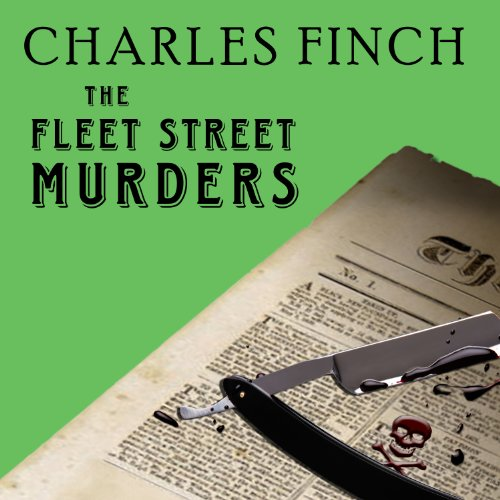 The Fleet Street Murders audiobook cover art