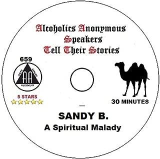 Sandy Beach a talk about The Spiritual Malady. AA Alcoholics Anonymous Speaker CD AA Talk