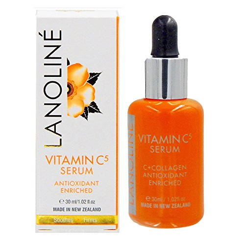Lanoline Super Vitamin C 5, Collagen, and Natural Antioxidants Firming Serum