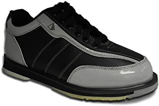 f293b4ddcfd Pyramid Men s Ra Black Silver Right Handed Bowling Shoes