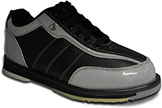 Pyramid Men's Ra Black/Silver Right Handed Bowling Shoes