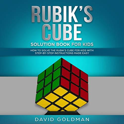 Rubik's Cube Solution Book for Kids audiobook cover art
