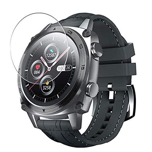 Vaxson 3 Unidades Protector de Pantalla, compatible con CUBOT C3 1.3' Smart watch [No Vidrio Templado Carcasa Case ] TPU Película Protectora