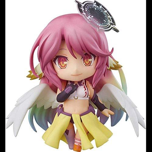 YZZR Action Figur No Game No Life Jibril Anime Statuen Modell,Charakter Figuren Pielzeug PVC Abbildung Dolls Sammelfiguren Skulptur Dekoration Spielzeugpuppe für Kinder Gifts(mit Box)