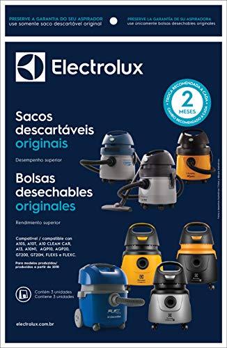 Kit 3 Sacos para Aspirador de pó, 6L, Electrolux