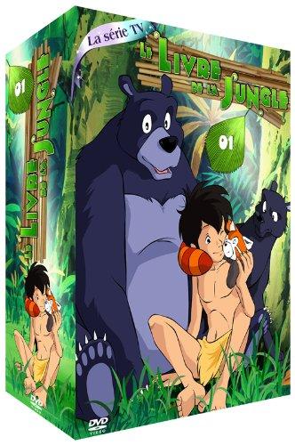 Livre de la Jungle (Le) -Partie 1-Coffret 4 DVD-La Série