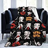 Blanket Luxury Cozy Fleece Throw Blanket Fit Living Room Couch Sofa for All Season