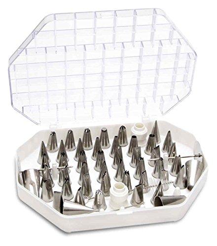 Städter Garniertüllen, Edelstahl, Silber, 4 cm