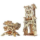 UGEARS- Balliste und Turm Accesorios, Multicolor (Archballista-1)