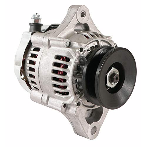 DB Electrical New AND0525 Fits Chevrolet Gm Mini Street Rod Race One High Performance Alternator 35 Amp BBC 1-Wire
