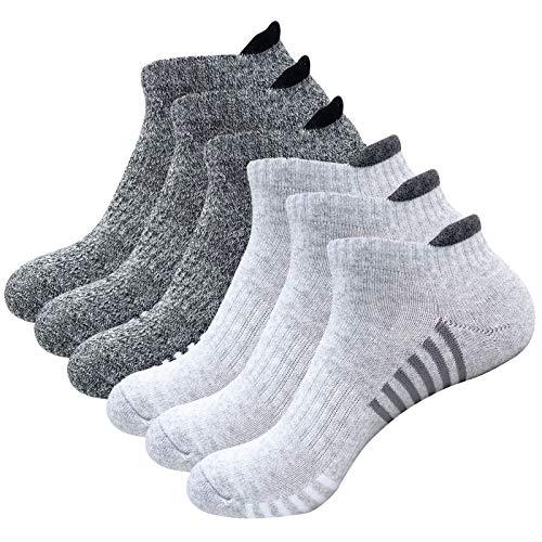 Litthing Socken Männer Europa und Amerika Männer Sport Verdickung-Socken aus Baumwolle Anti-Rutsch-Socken für Basketball, Laufen, Federball usw (5 Mehrfarbig)