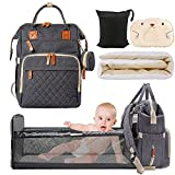 Diaper Bag Backpack,Foldable Baby Toddler Nappy...