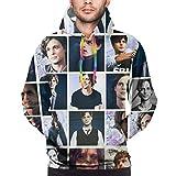 DHK Matt-Hew G-Ray Gub-Ler Hoodie Cool Mens Sweatshirt Sweater for Hanging Out Medium